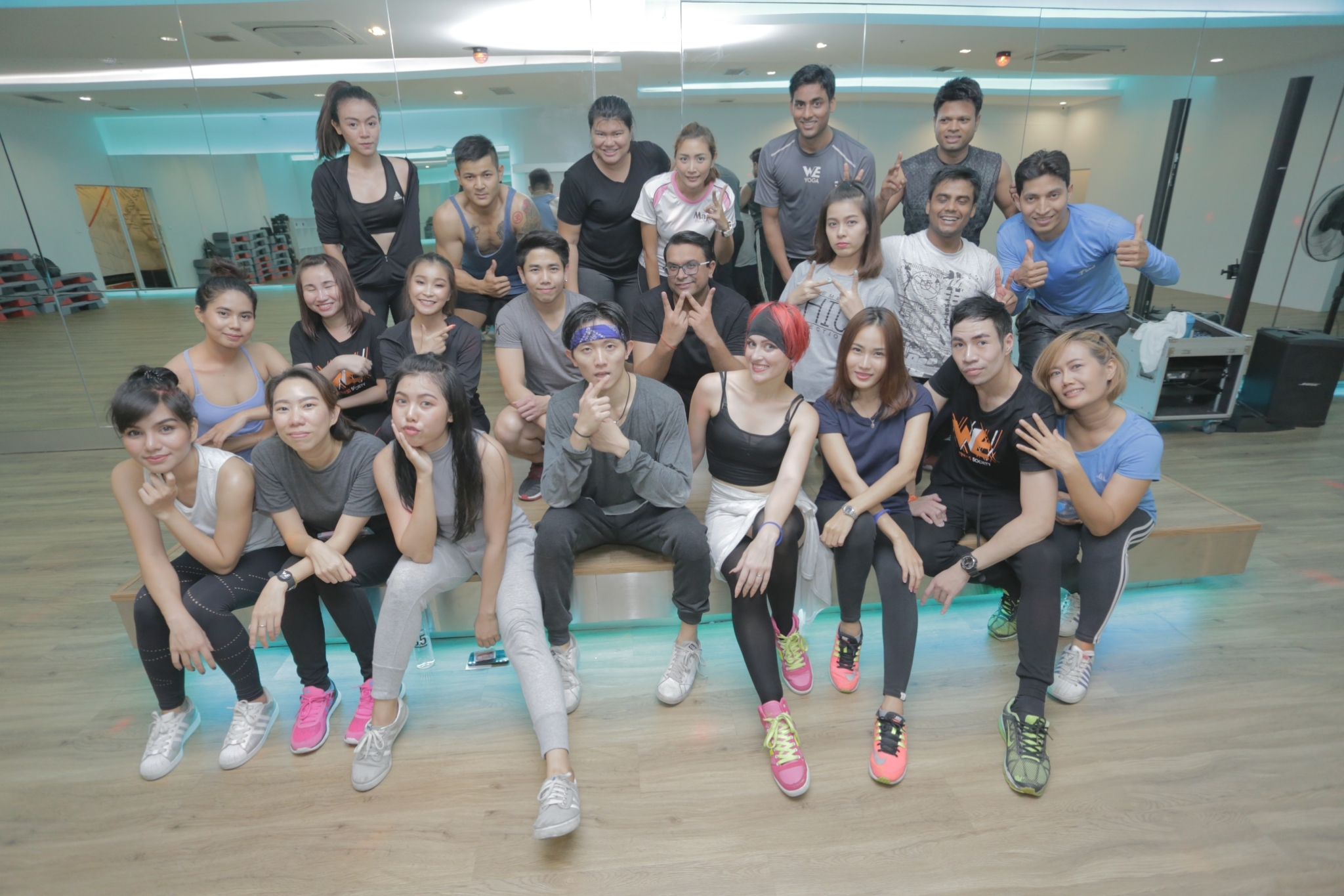 WE Duo Fit Dance Class