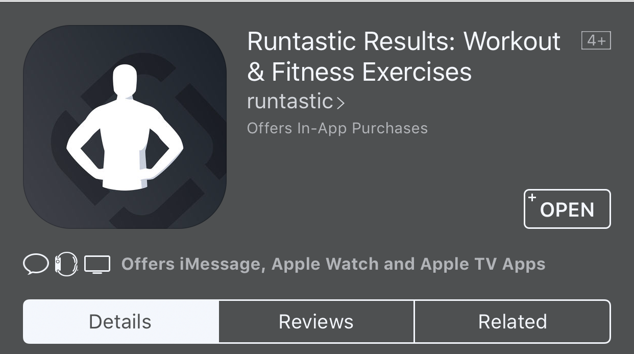 WE Fitness -Runtastic Results : Workout & Fitness