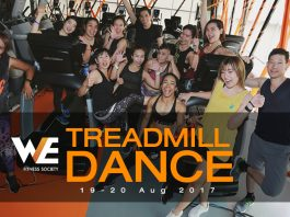 Treadmill Dance Special Class - WE Fitness Society