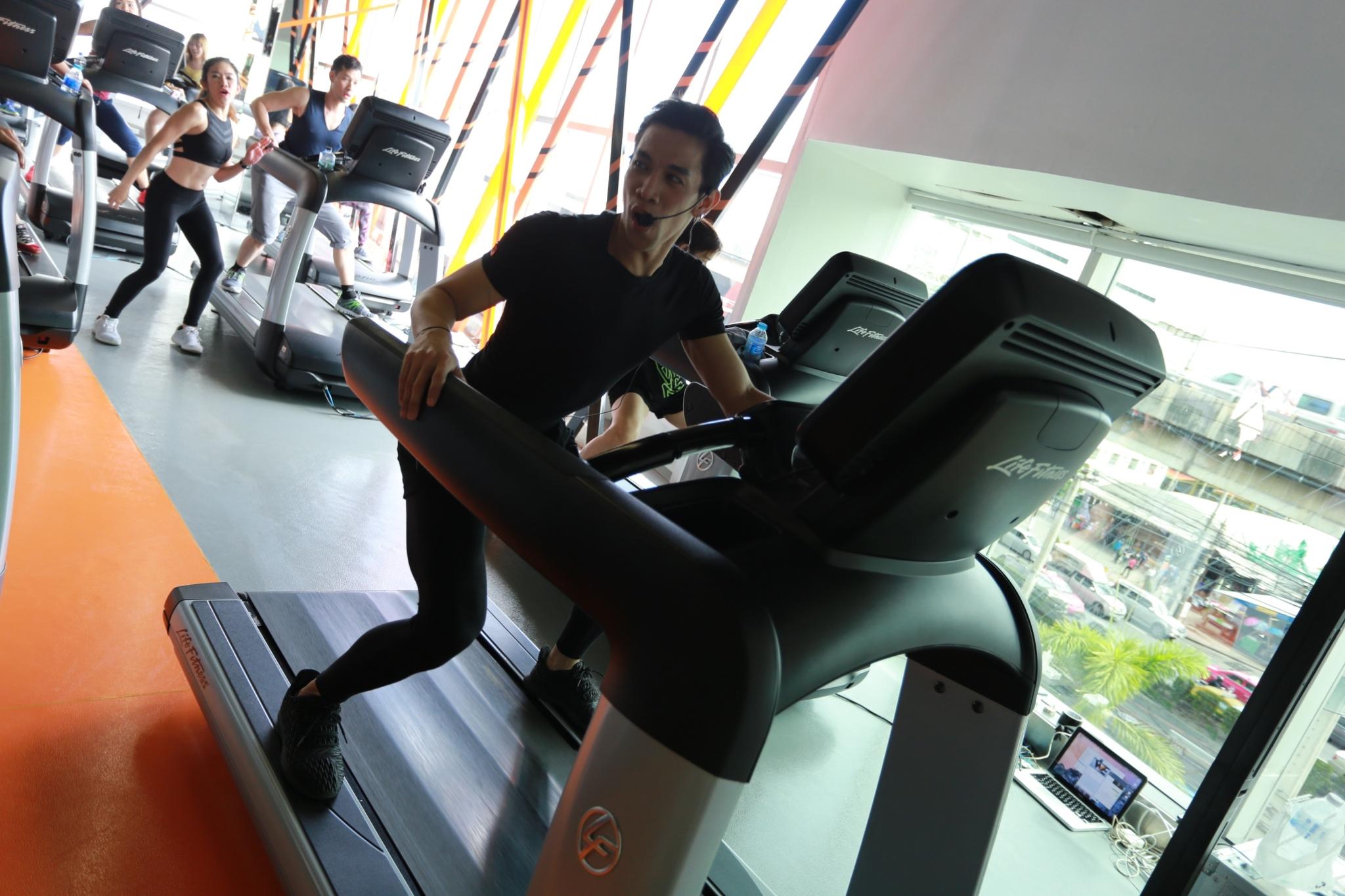 Treadmill Dance Special Class - WE Fitness สาขาเมเจอร์ปิ่นเกล้า