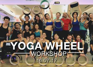 WE Fitness Yoga Wheel Workshop