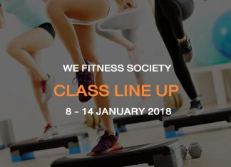 CLASS LINE UP 8-14 JAN