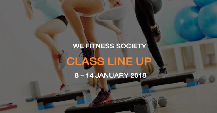CLASS LINE UP 8-14 JAN
